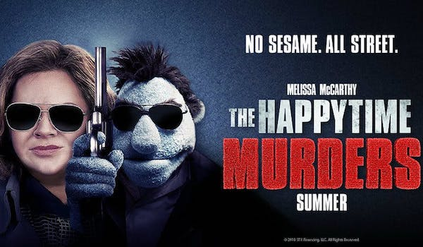 THE HAPPYTIME MURDERS (2018) Red Band Movie Trailer 2: Puppets & Humans Coexist in LA's Underbelly